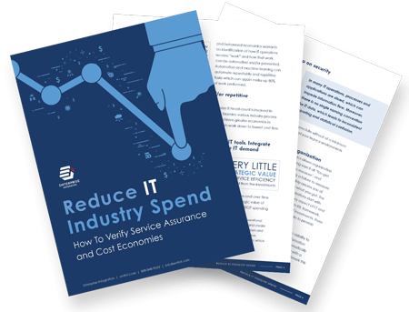 Reduce IT Industry Spend White Paper Preview